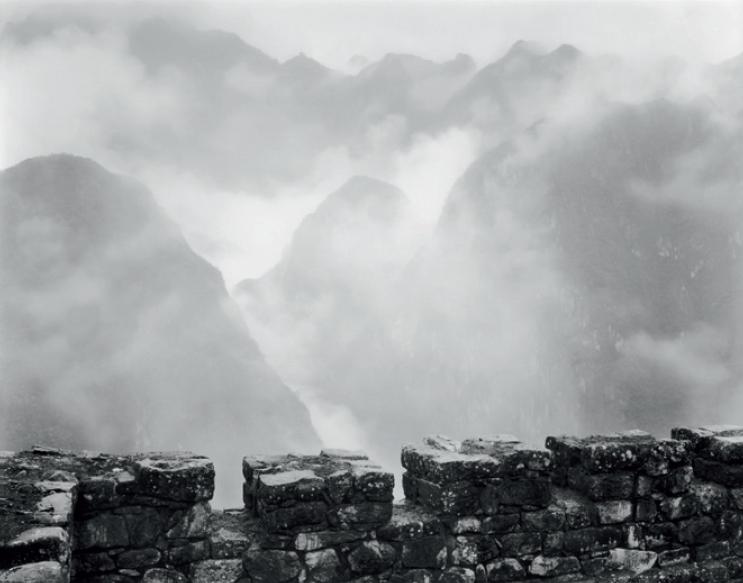 Machu Picchu in The Mist, by Bruce Barnbaum