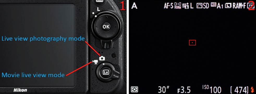 Live View Photography Mode With Your Nikon D750
